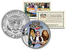 Wizard of Oz Cast on JFK  Kennedy Half Dollar US Coin *Officially Licensed*