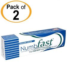 2 Tubes NUMB FAST® Numbing Painless Cream Tattoo Piercing Waxing Laser Dr