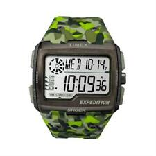 Timex Mens Expedition Grid Shock Green Camo TW4B07200 Watch - 12 off