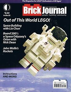 Brickjournal Magazine #41 for Lego Enthusiasts of All Ages TwoMorrows Sept 2016