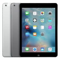 Apple iPad Air 1st WiFi + Cellular Unlocked 16GB 32GB 64GB 128GB Gray Silver