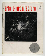 1947 Ray Eames Cover ARTS + ARCHITECTURE Raphael Soriano MIES Claire Falkenstein