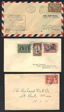 CANADA 1920-50's COLLECTION OF 18 COVERS COMMERCIAL & FDC's