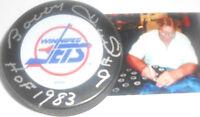 Bobby Hull Winnipeg Jets Autographed Signed Puck PSA DNA HOF 1983