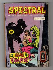 ► SPECTRAL  N°13 - LE SANG DU VAMPIRE   - COMICS POCKET - 1980