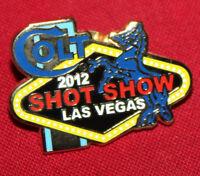 COLT FIREARMS FACTORY 2012 Shot Show Pin .