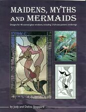 Maidens, Myths and Mermaids Stained Glass Book, Books