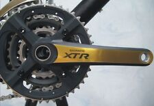 XTR M970 chainset PROTECTIVE COVERS SKINZ GOLD SILVER OR GREY 170/175
