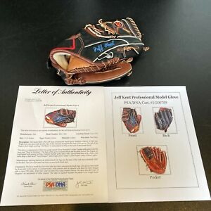 Jeff Kent Game Used 1993 Zett Baseball Glove PSA DNA COA RARE
