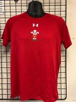 UNDER ARMOUR WALES RUGBY  SUPPORTERS TEE SHIRT S-XXL  WRU Genuine Product NEW