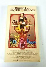 Bruce Lee Enter the Dragon VHS Tape Movie Warner Bros Vintage