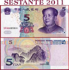 CHINA  CINA  -  5 YUAN 2005   MAO TZE TUNG  -  P 903  -  FDS / UNC