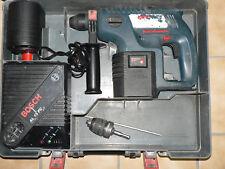 Bosch Akku Bohrhammer GBH 24 VRE Professional mit Koffer und Ladegerät AL 15 FC