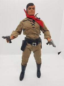 """The Lone Ranger 10"""" action figure 70's Marx Gabriel vintage"""