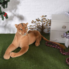 big lovely plush simulation lion toy creative female lion doll gift about 90cm