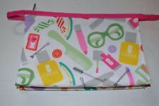 New CLINIQUE Beauty Tools & Accessories Print Make Up Cosmetic Travel Bag Case