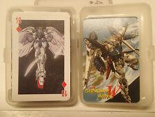 Gundam Wing Poker Deck  Endless Waltz Playing Cards Brand New