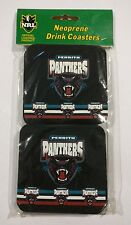 Set of 4 Penrith Panthers Official NRL Neoprene Drink Coasters
