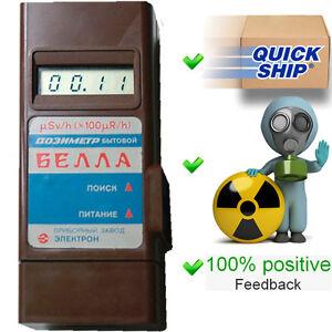 Bella Dosimeter Radiometer Geiger Counter Radiation Detector Pripyat Terra