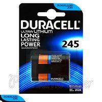 1 x Duracell Ultra Lithium DL245 2CR5 6V battery DL245 ELCR5 Photo EXP:2024