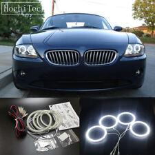 4pcs white LED SMD Angel Eye Halo Rings light for bmw z4 E85 E86 2002-2008