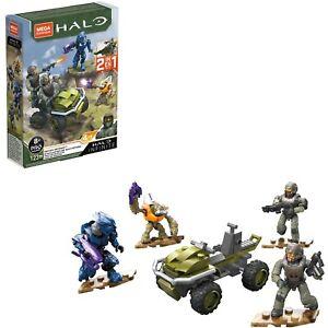 Brand New Mega Construx - Halo Infinite: Recon Getaway - 123 Pieces - 2 in 1