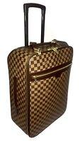 Louis Vuitton Pegase 55 Damier Ebene Suitcase w/ Garment Bag 💯% Authentic