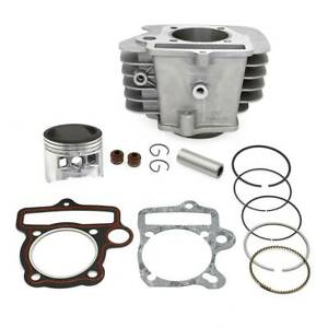 Pit bike piston & barrel 140cc rebuild kit yx140 cylinder fits WPB CW M2R Stomp