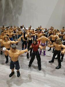 HUGE Job Lot 44x WWE Wrestling Figures Retro  Joblot Jakks, 2002/4