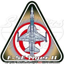 Northrop F-5E Tiger II TUNISIA Tunisian AirForce Vinyl Sticker, Decal