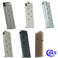 Colt OEM Semi-Auto Handgun Various Pistol Mags Gun Magazines 6 7 8 9 Rounds RDs