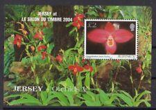 Jersey 2004 postfrisch Block MiNr. 44I  Phragmipedium