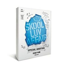 BTS SKOOL LUV AFFAIR 2nd Mini Album SPECIAL ADDITION CD+2DVD+100p P.Book+P.Card