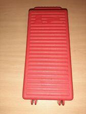 Cassette Holder Storage Case Box 12 Tape Made In Italy Black Vintage Retro 80's