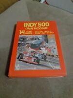 Indy 500 GATEFOLD for ATARI 2600 CIB 1977 ▪︎FREE SHIPPING