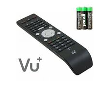 Original Vu+ High-End Remote Control Zero Solo 2 SE Uno Ultimo Duo 4K + 3x Batt