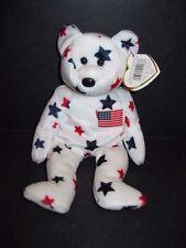 Ty Beanie Baby Glory Bear Plush Stuffed Animal Retired W Tag July 4 1997 10a434bf55a3