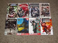 HUGE LOT OF 40 WINTER SOLDIER/BUCKY BARNES/CAPTAIN AMERICA COMICS FALCON! VF/NM