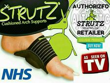 THE REAL STRUTZ ARCH SUPPORT FEET FOOT FALLEN  PLANTAR FASCIITIS INSOLE HEEL