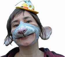 Mausmaske Mäuse-Prinzessin Maus Maske Tiermaske Fasching Karneval 129238313