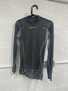 Castelli FLANDERS LS Long Sleeve Thermal Cycling Base Layer : GREY
