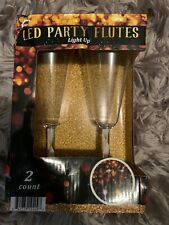 Led Party Flutes~Wine/Champagne Glasses