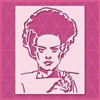 Frankenstein Stencil - Mylar Reusable&Durable - Template - Halloween - Witch