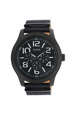 New Guess W11623G1 Chronograph Mens Rugged Black Fabric Watch