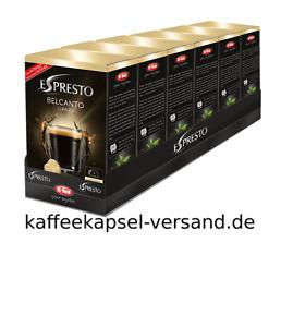 K-fee Espresto - BELCANTO LUNGO - 6x16=96 Kapseln - 3,83 € / 100 Gramm