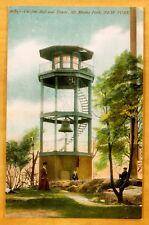 Antique Postcard CURFEW BELL & TOWER Mt. Morris Park NYC c1908 New York