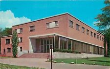 Youngstown Ohio~3rd Floor Windows Open @ University Library~1961 Postcard