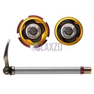 SR SUNTOUR 15mm QLC Thru Axle Q-Loc Quick 115mm dropout Release Skewer Forks