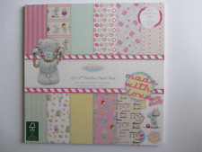 "Me To You 12""x12"" Premium Paper Pack Sweet Shop"