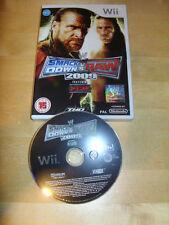 NINTENDO Wii GAME - WWE SMACKDOWN vs RAW 2009 *No Manual*    *FREE UK P&P*